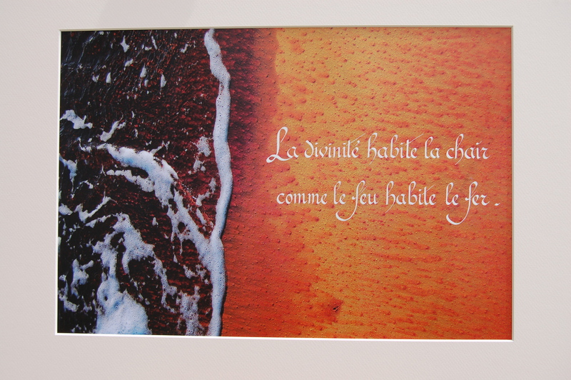 Script Art - Danielle riche : Photos calligraphiées -